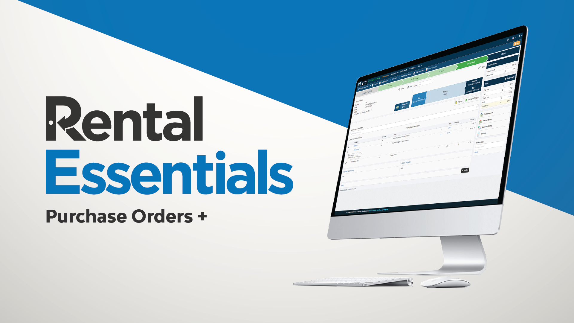 Purchase Orders are now possible in Point of Rental!
