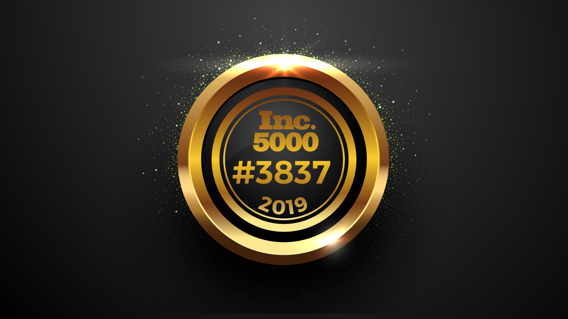Inc. 5000 seal with Point of Rental's #3837 rank in 2019