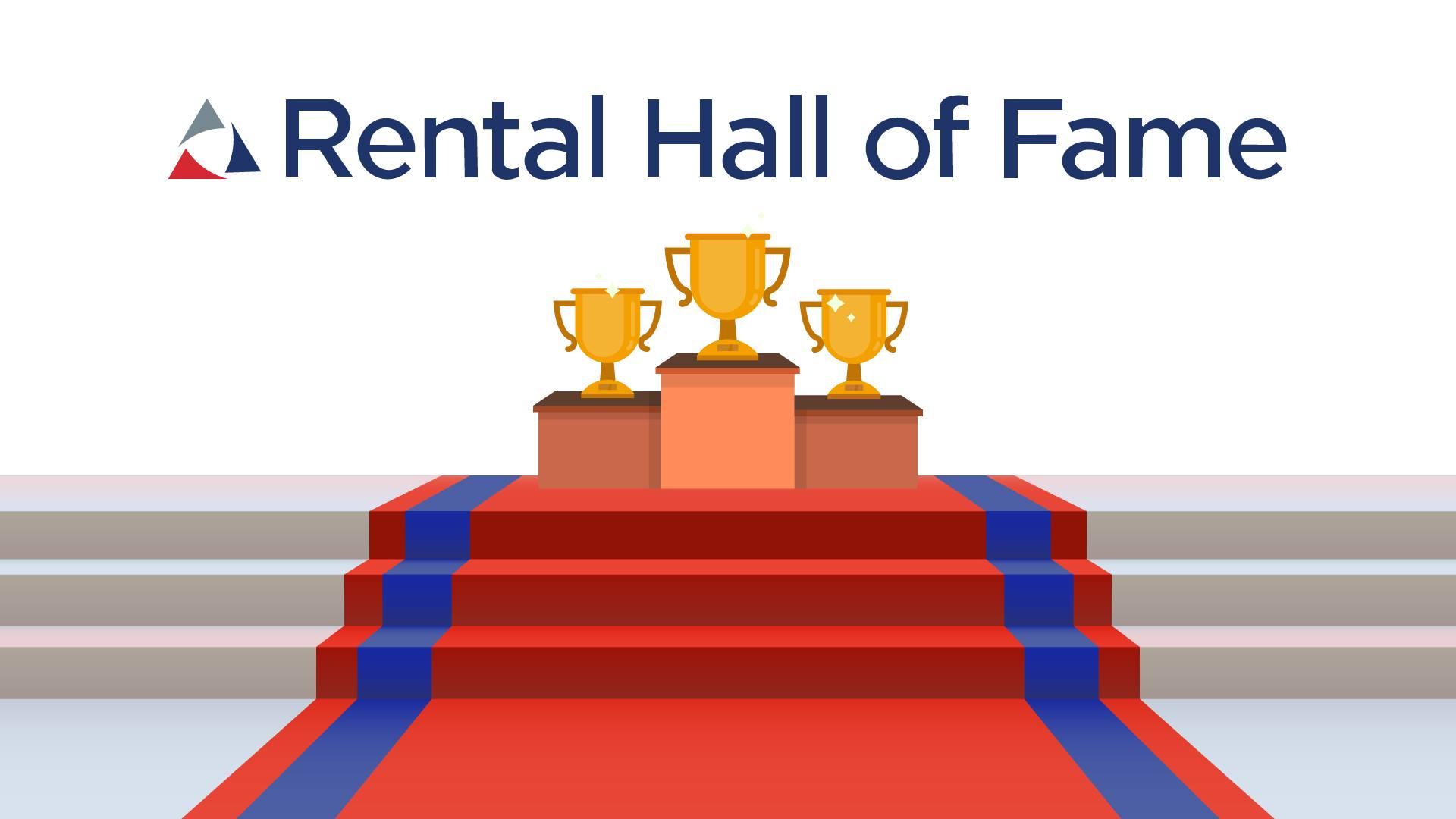 ARA Rental Hall of Fame graphic