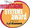 Point of Rental, RentalStaging Systems Awards