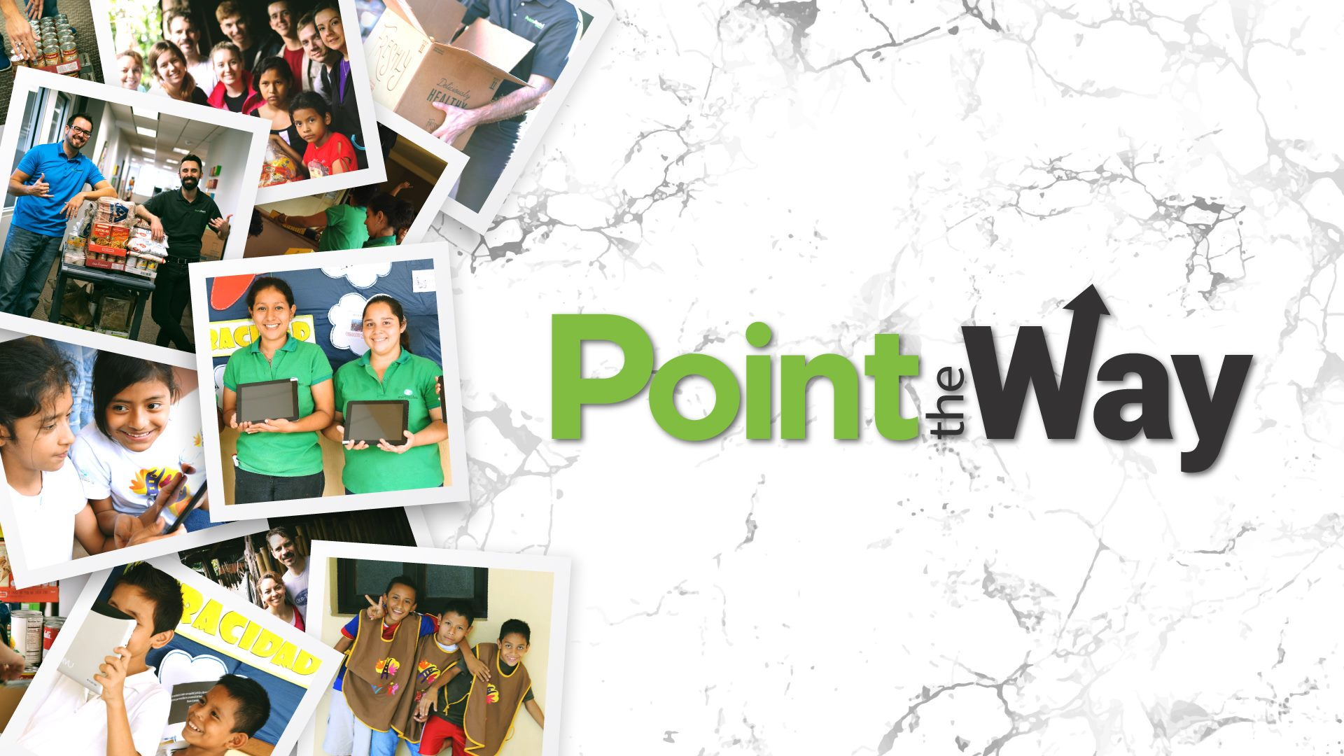 Point the Way nonprofit images and logo