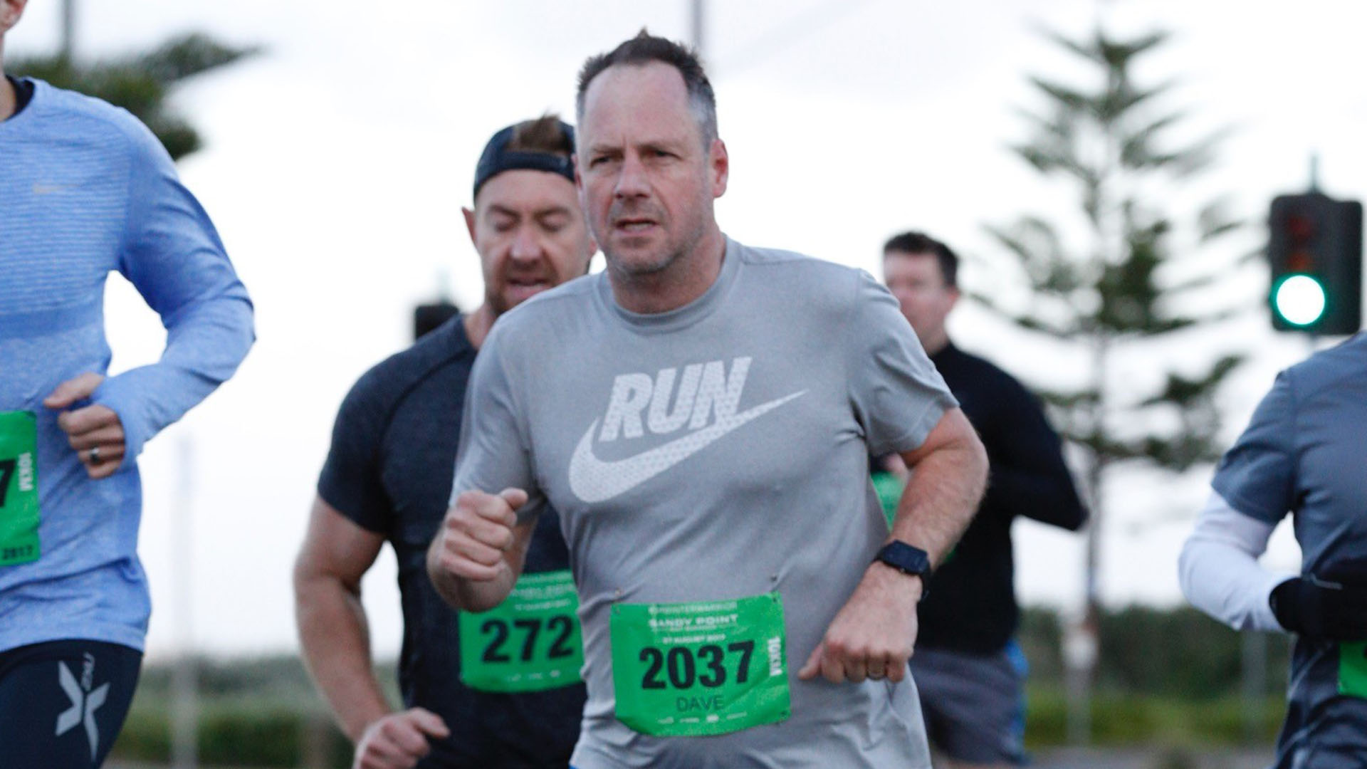 Dave Cameron, APAC Regional Director at Point of Rental, goes for a run