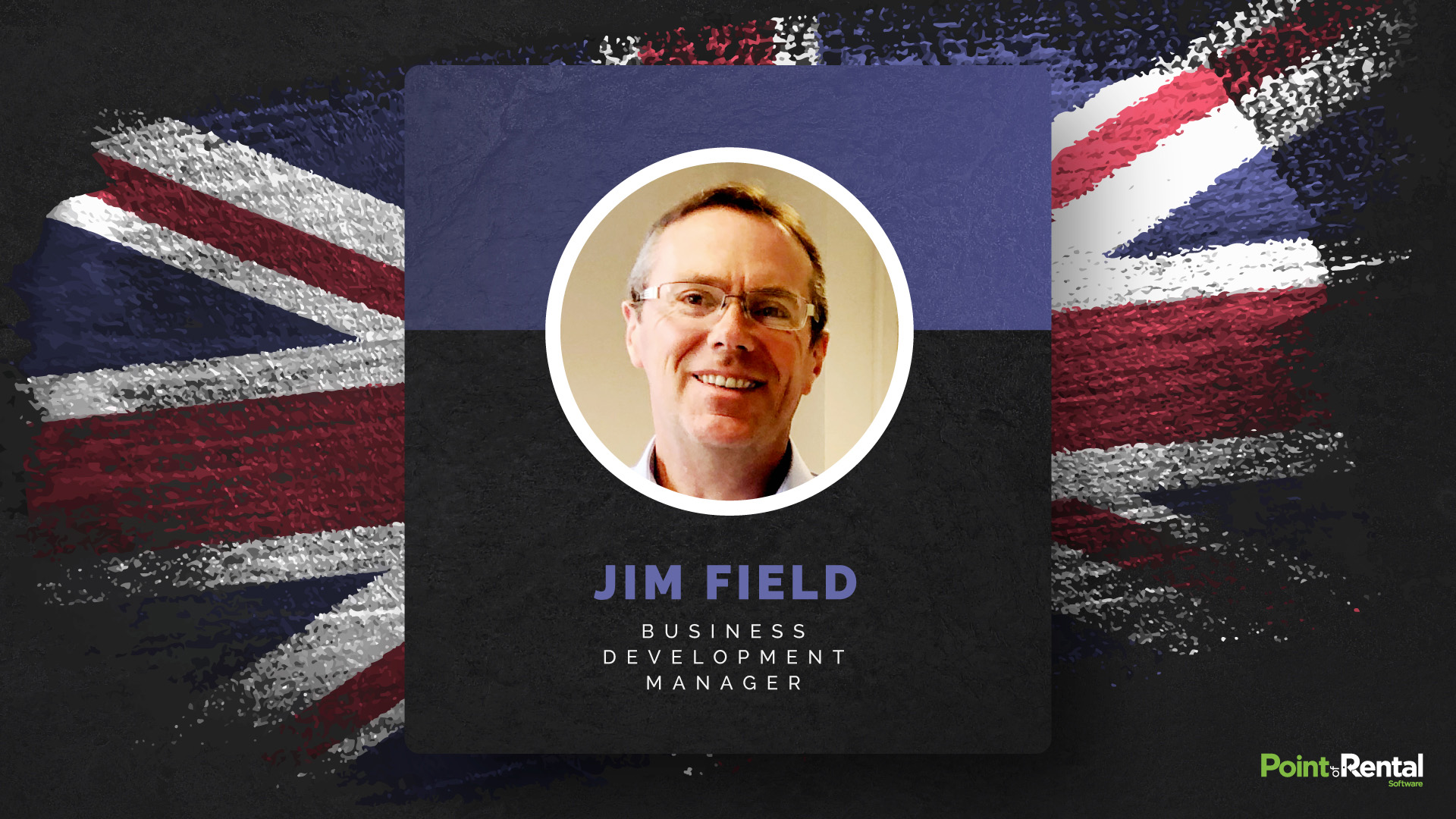 Jim Field, Business Development Manager graphic