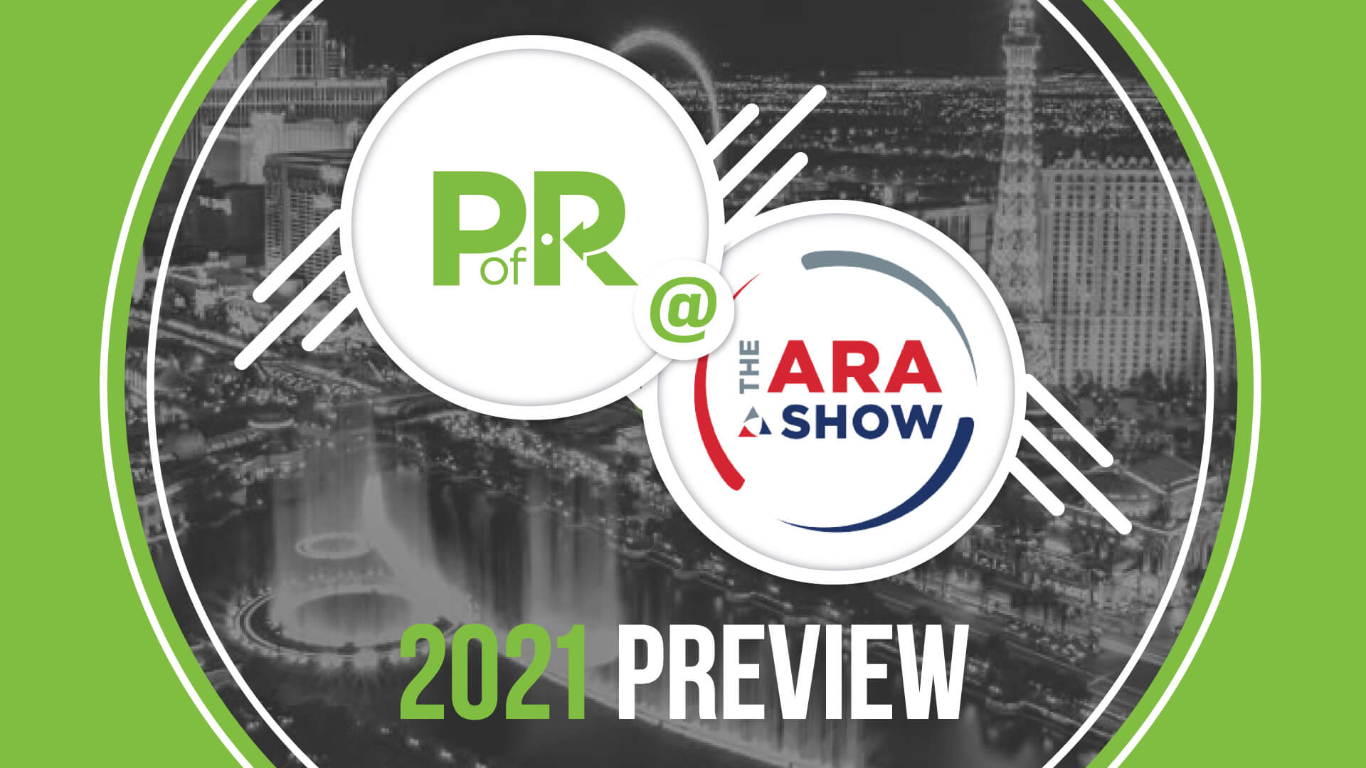Point of Rental @ the 2021 ARA Show preview graphic
